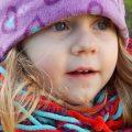 Little girl breathing through mouth.